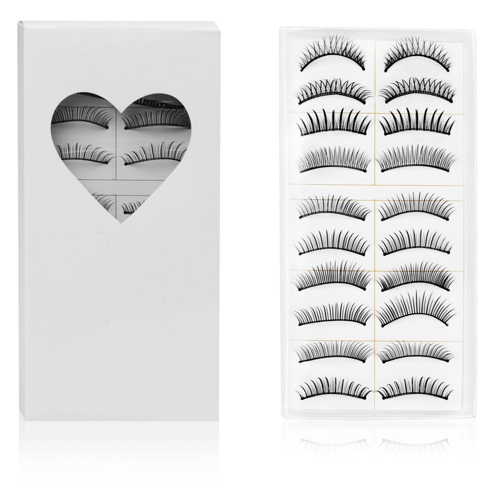 SHANY Cosmetics Shany Long Black Natural Soft False Eyelashes (Set of 10) at Sears.com