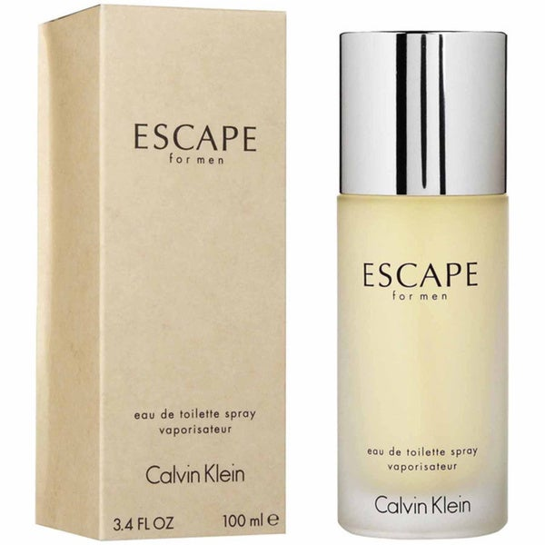 Escape by Calvin Klein for Men 3.4 oz Eau De Toilette Spray
