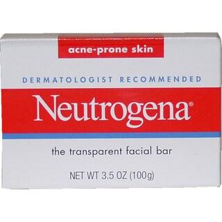 Neutrogena Acne-Prone Skin Formula Transparent 3.5-ounce Facial Bar
