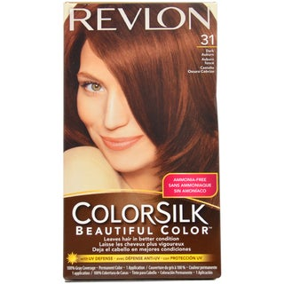 Revlon ColorSilk Beautiful Color #31 Dark Auburn Hair Color