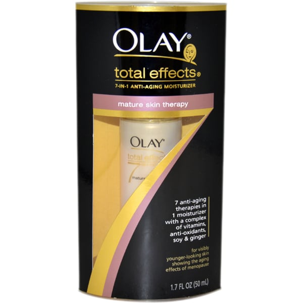 Olay Total Effects Mature Skin Therapy 1.7-ounce Moisturizer