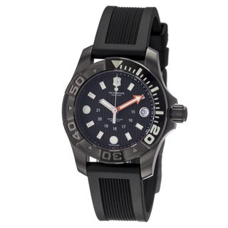 Black Swiss Army Watch