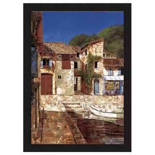 Gilles Archambault 'Quiet Days of Summer' Framed Art Print