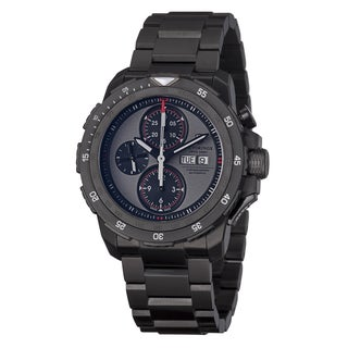 Swiss Army Men's 'Alpnach' Black Dial Chronograph Automatic Watch
