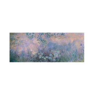 Claude Monet 'Water Lilies 1914-22' Canvas Art