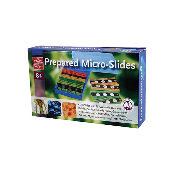 Prepared Micro-slides and Blank Slides Set