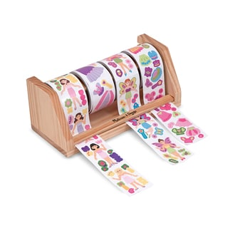 Melissa & Doug Dress-Up Princess & Fairy Sticker Rolls