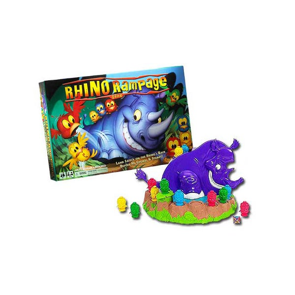 Rhino Rampage Game