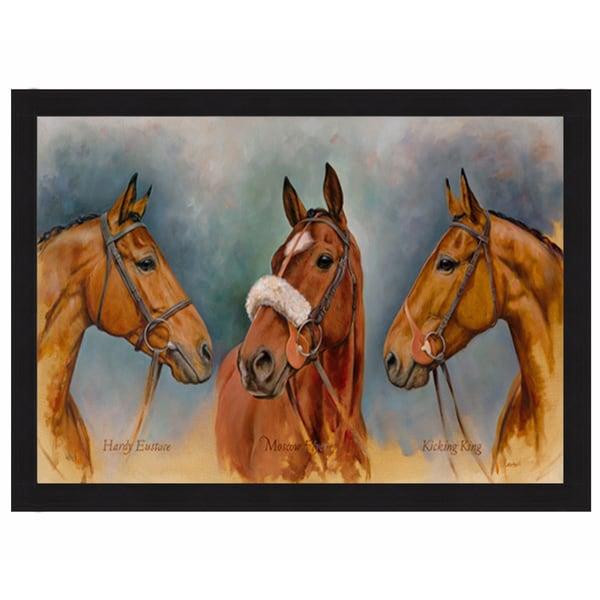Sara Aspinall 'The Three Winter Kings' Framed Print