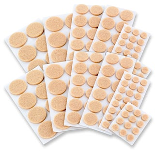 Assorted Felt Furniture Floor Protector Pads (Pack of 152)