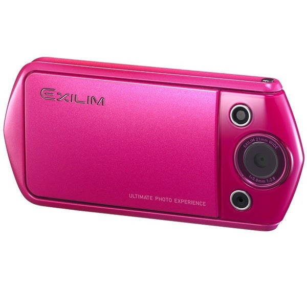 Casio Exilim EX-TR15 Wi-Fi 12.1MP Vivid Pink Digital Camera