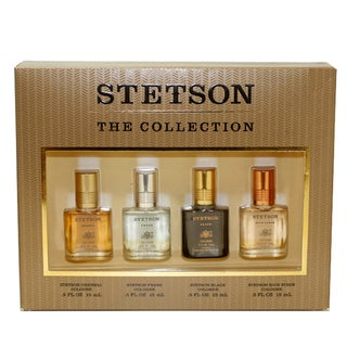 Coty Stetson Collection Men's 4-piece Gift Set
