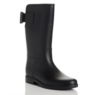 Henry Ferrera Women's Rubber Mid-calf Rain Boots