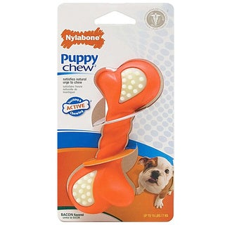 Nylabone DuraChew Double Action Petite Puppy Chew Toy (2 Pack)