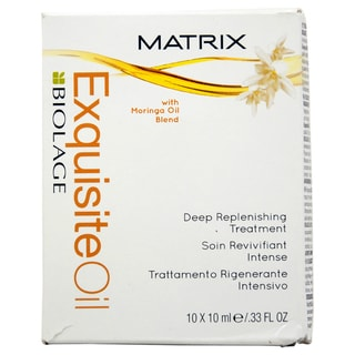 Matrix Biologe Exquisite Oil Deep Replenishing 10-ml Treatment (Pack of 10)