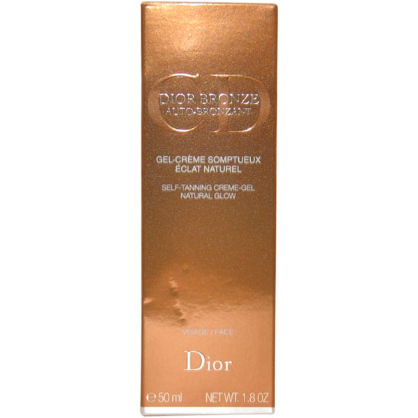 Dior Bronze Self Tanner Natural Glow 1.8-ounce Face Gel Cream
