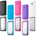 Gearonic Wrap Up Clear Cover TPU Back Case for HTC One M7