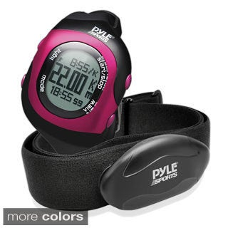 Pyle Bluetooth Fitness Heart Rate Monitoring Watch