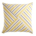 Ottoman Stripe Decorative Down Fill Throw Pillow