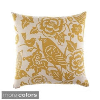 Billybird Decorative Down Fill Throw Pillow