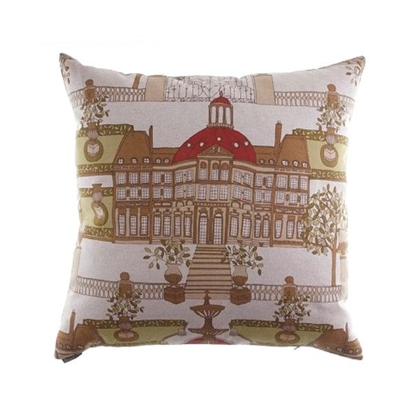 Conservatory Linen Decorative Throw Pillow