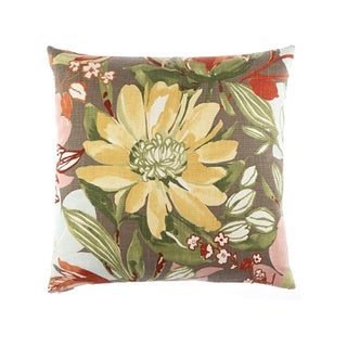 Flourish Decorative Down Fill Throw Pillow