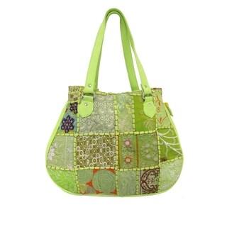 Khambadia Patchwork Shoulder Bag (India)