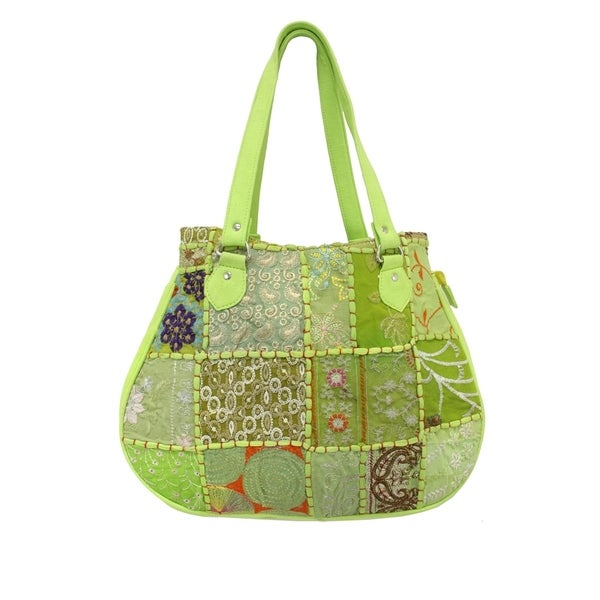 Khambadia Patchwork Shoulder Bag (India)