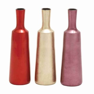 Artistic Design Lacquer Vase (Set of 3)