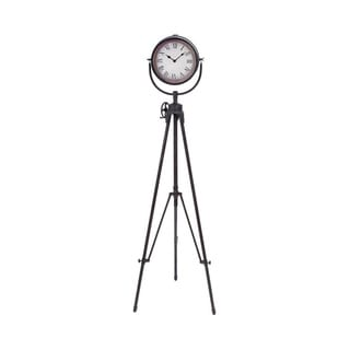 Metal Tripod Standing Wall Clock