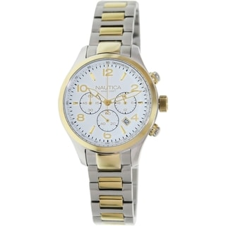 Nautica Women's Two-Tone Stainless Steel Quartz Watch