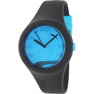 Puma Men's Active Black Silicone Analog Quartz Watch