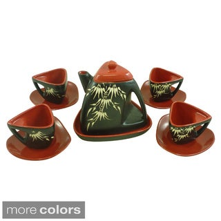 10-piece Ceramic Tea Set (Vietnam)