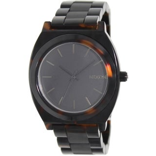 Nixon Women's Time Teller Two-Tone Stainless Steel Quartz Watch
