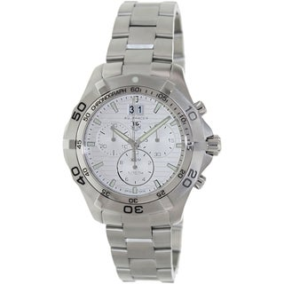 Tag Heuer Men's 'Aquaracer' Stainless Steel Swiss Quartz Watch