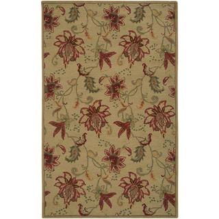 Rizzy Home Ashlyn Collection Hand-tufted Wool Accent Rug (5' x 8')