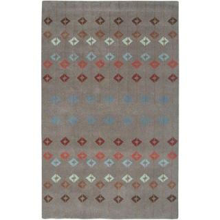 Hand-Tufted Handicraft Imports Designer Trends Multi Wool Area Rug (9' x 12')