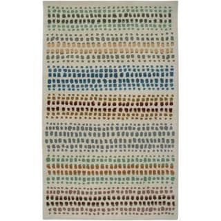 Hand-tufted Beige Wool Area Rug (9' x 12')