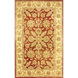 nuLOOM Handmade Traditional Persian Red Wool Rug (5' x 8')