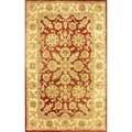 nuLOOM Handmade Traditional Persian Red Wool Rug (5' x 8')