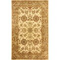 nuLOOM Handmade Traditional Persian Ivory Wool Rug (8' x 10')