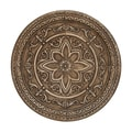 Floral Engravings Metal Wall Decor