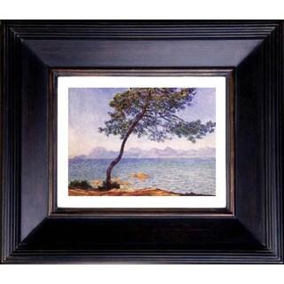 Claude Monet 'Antibes' Giclee Framed Art