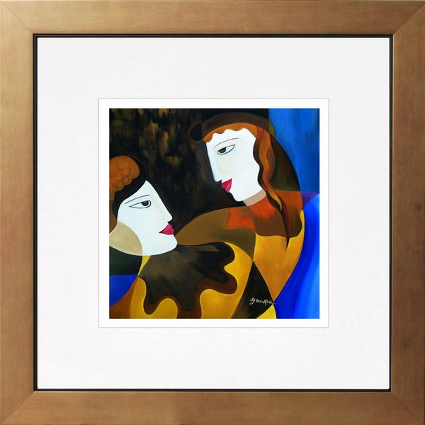 Grace Absi 'True love' Giclee Framed Art