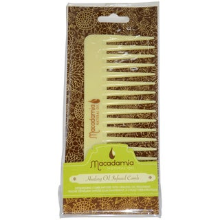 Macadamia Oil Healing Oil Infused 1-piece Comb