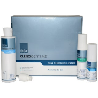 Obagi Clenziderm M.D. Acne Therapeutic System Kit Normal to Dry Skin 3-Piece Kit