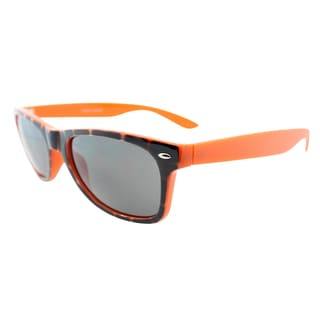 Fantaseyes 'Beat Box' Tortoise and Orange Plastic Sunglasses