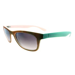 Fantaseyes Women's 'Culture Shock' Two-tone Textured Sunglasses