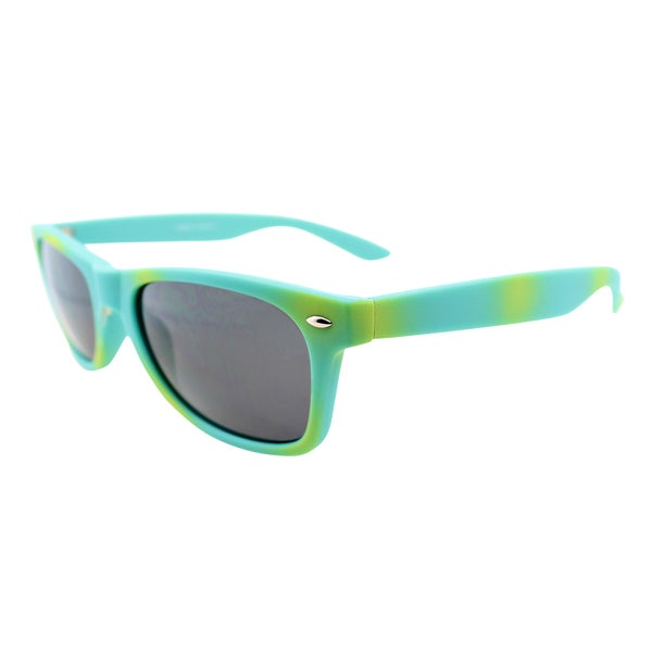 Fantaseyes 'Mayfair' Aqua Plastic Sunglasses