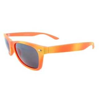 Fantaseyes 'Mayfair' Orange and Pink Plastic Sunglasses